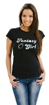 Ladies - Fantasy Football Girl T-Shirt