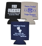 Fantasy Football Draft Drink-Can Coolers Set of 3