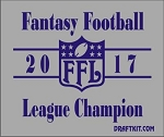 Fantasy Football League Champion Koozie-Choose Your Year