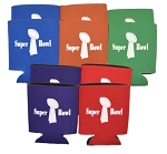 Super Bowl Drink-Can Coolers Set of 10