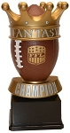 Football Crown Trophy