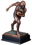 Large Football Runner Trophy