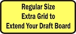 Extra Regular Size Grid To Expand Your Draft Board