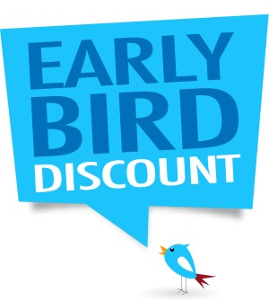 Early Bird Discount 2020                $2 Discount