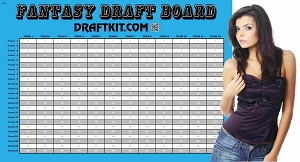 NBA Fantasy Basketball Draft Kit