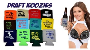 Fantasy Football Draft Drink-Can Coolers Set of 12 Different Coolers