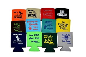 Fantasy Draft Koozie Set of 8 Different Koozies **Good For Any Sport**