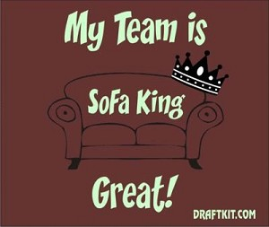 My Team Is Sofa King Great Drink-Can Cooler