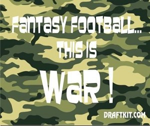 Fantasy Football...This Is War Koozie