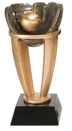 Standard Tower Baseball Trophy